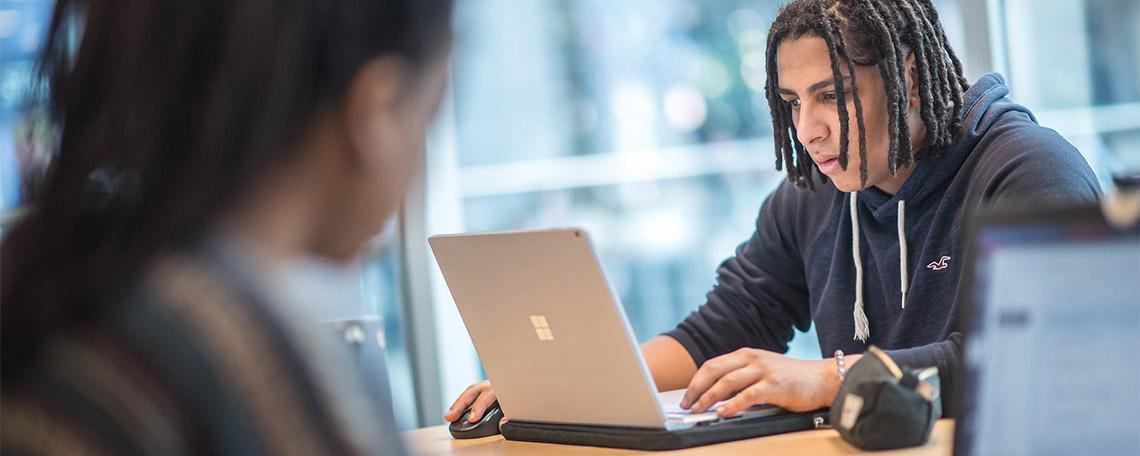 Student Studying at UBC Okanagan