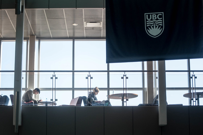 Students Studying at UBCO