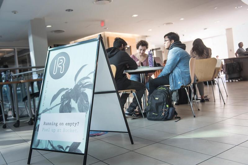 Rocket Cafe at UBCO