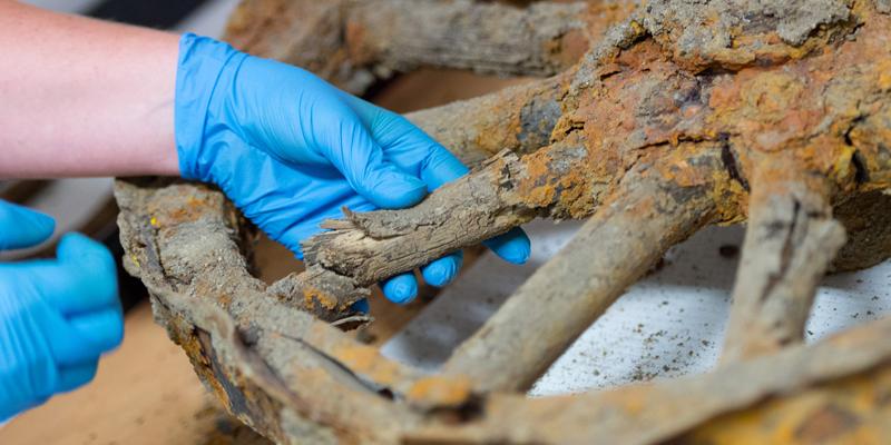Researching wagon wheel artifact