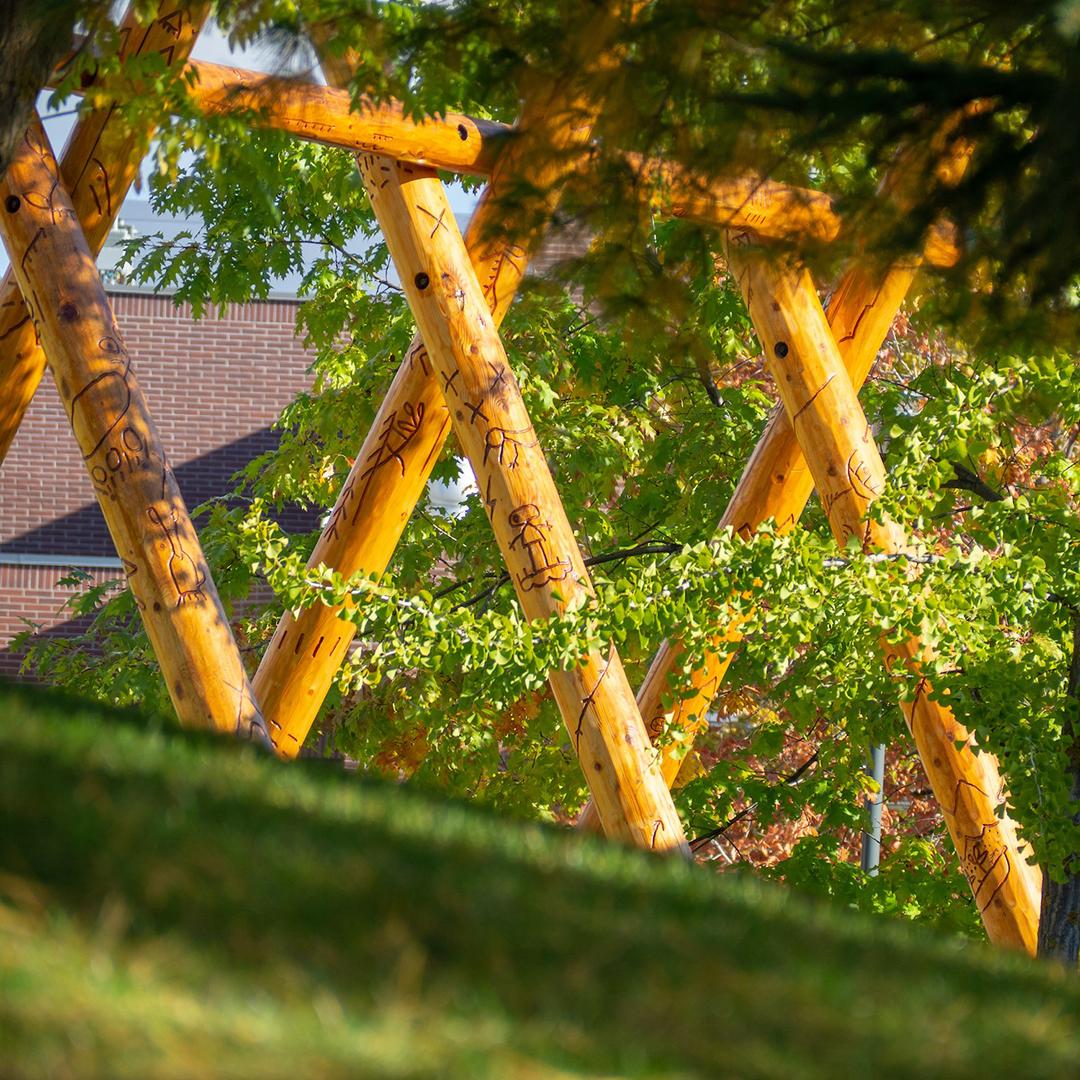 Story Poles at UBC Okanagan