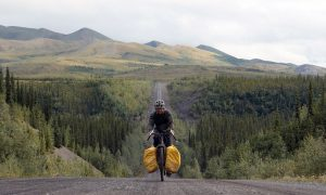 UBCO student cycles to Arctic Ocean as fundraiser for mental health